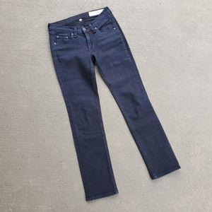 RAG & BONE dark wash skinny jean